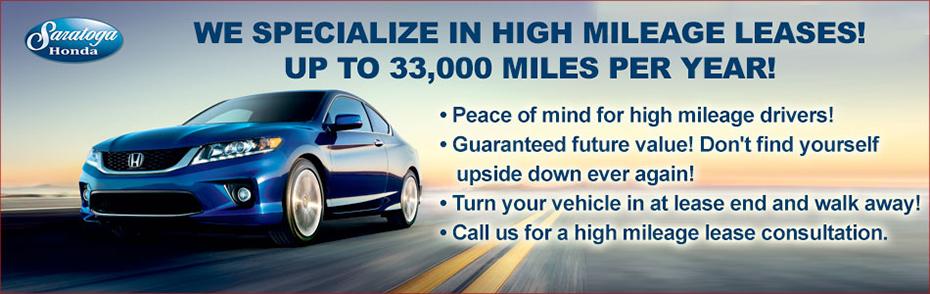 High Mileage Lease >> High Mileage Leases