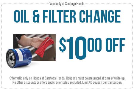 Top Honda Oil Change Printable Coupon